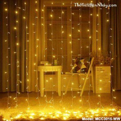 đèn led rèm trong studio