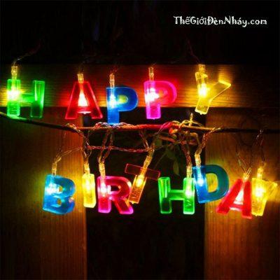 đèn happy brithday sinh nhật