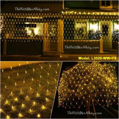 Đèn nháy lưới trang trí cưới hàng