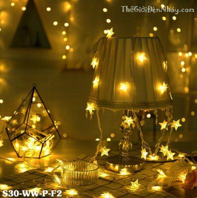 đèn nháy sao làm phụ kiện trang trí