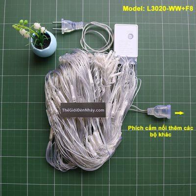 1 bộ đèn nháy lưới