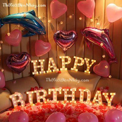 đèn Trang trí sinh nhật