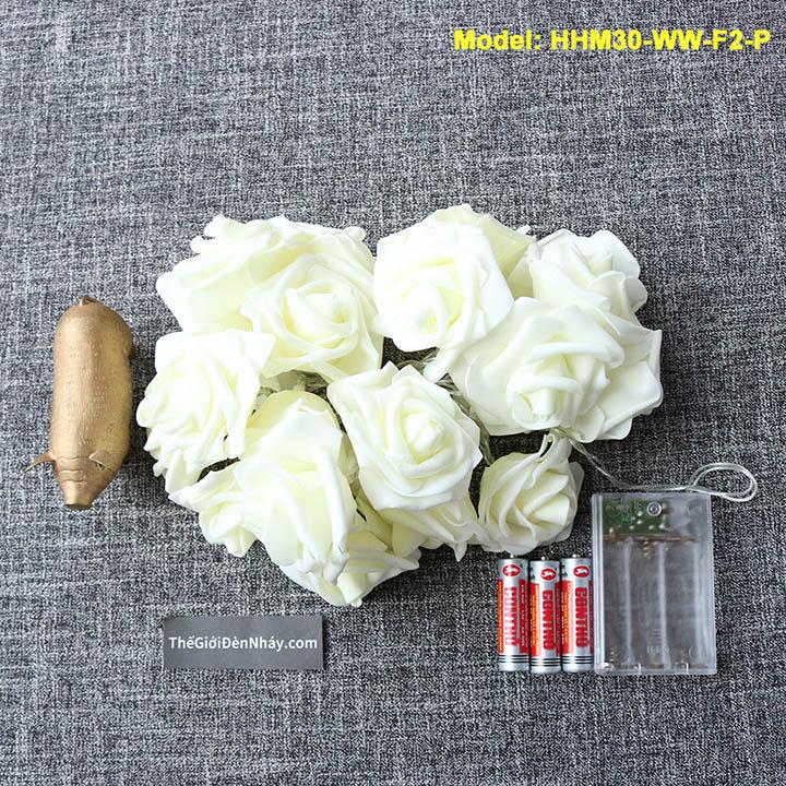 đèn hoa hồng dùng pin