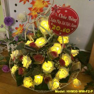 Bó hoa hồng phát sáng 20.10