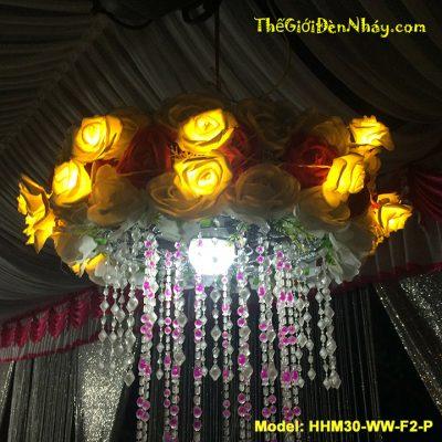 hoa hồng điện trang trí đám cưới