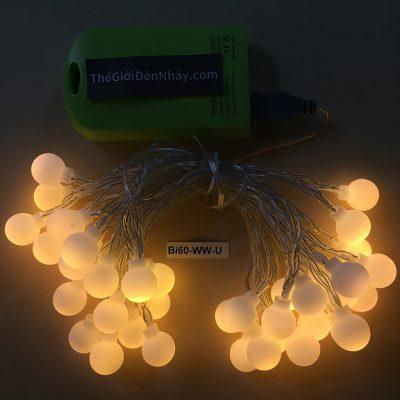 bộ đèn trang trí bóng bi 6m usb