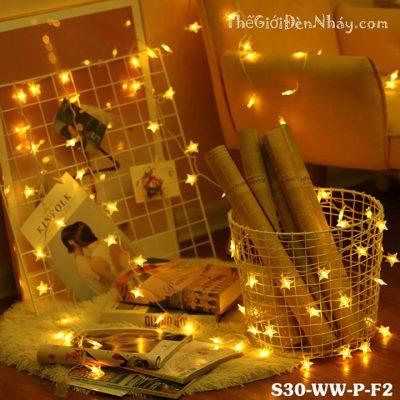 đèn sao trang trí khu chụp ảnh