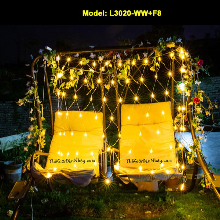đèn lưới màu vàng