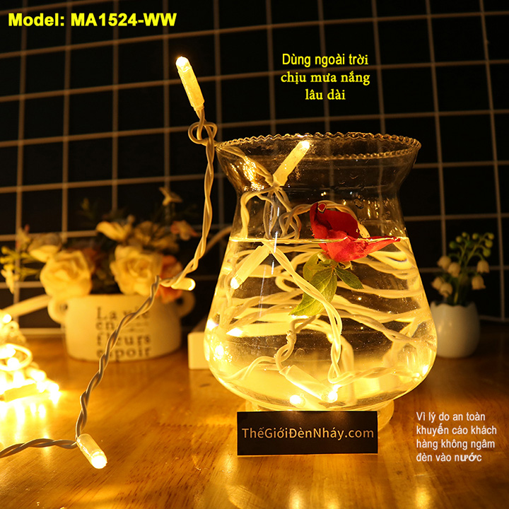 Thử nghiệm đèn nháy ngâm trong nước