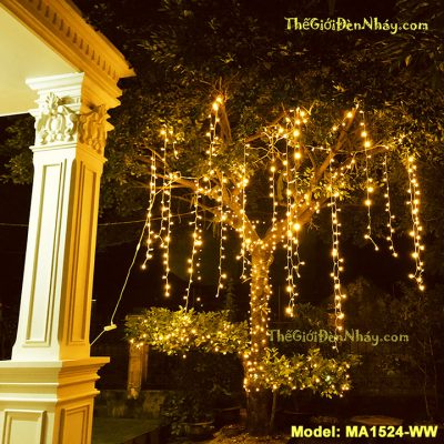 đèn LED rèm thả cây