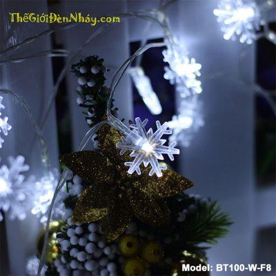 đèn bông tuyết trắng