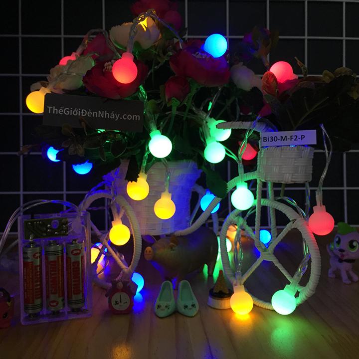 Đèn LED bóng bi 4 màu