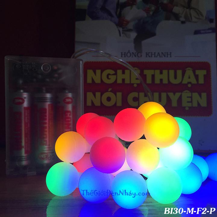 đèn nháy bi nhiều màu