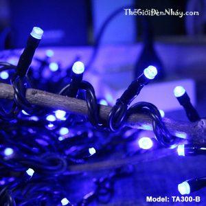đèn nháy màu xanh