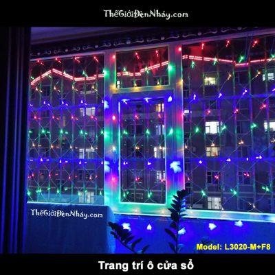 đèn nháy lưới nhiều màu