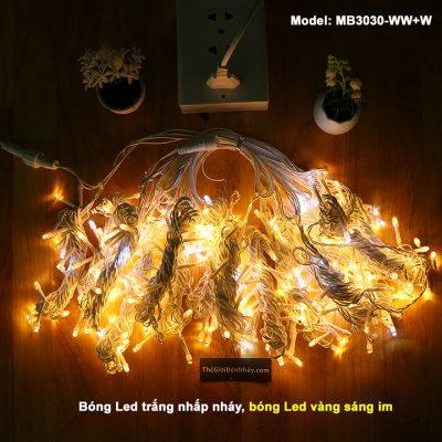 1 bộ đèn led mành rèm 3m * 3m