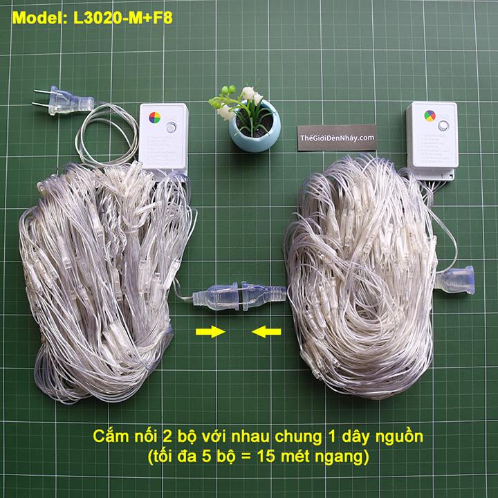2 bộ nháy lưới cắm nối