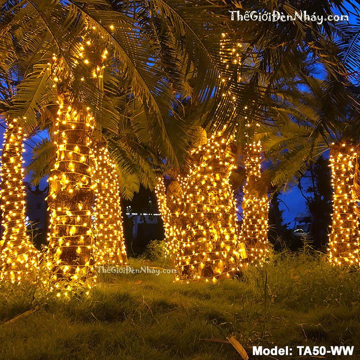 đèn led quấn cây chống nước