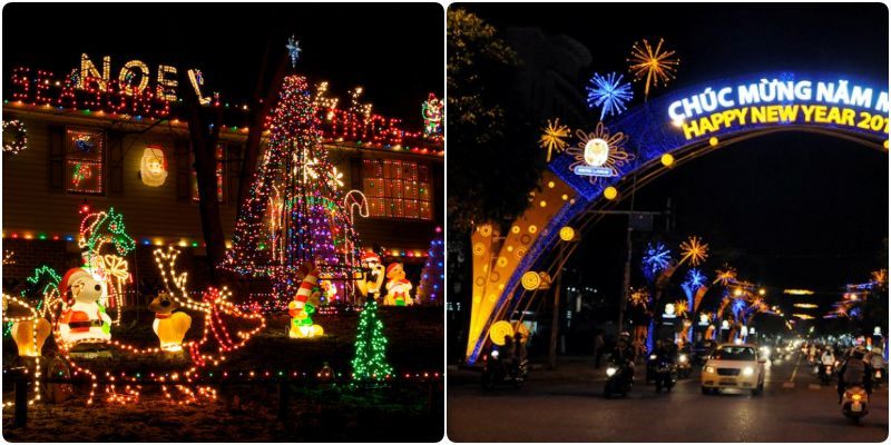 Đèn Trang Trí Noel-Tết