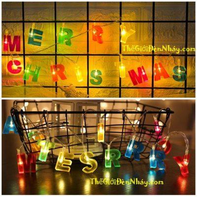 chữ Merry Christmas