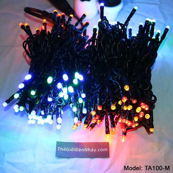 ánh sáng 4 màu đèn nháy